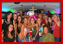 Carrollton TX Party Limo Buses